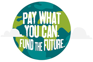 Pay what you can. Fund the Future.